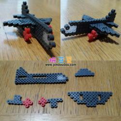 3D拼豆立体拼豆飞机