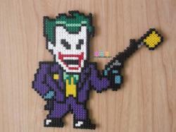 DC蝙蝠侠反派小丑拼豆