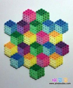 立体方块艺术拼豆