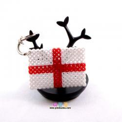 英格兰国旗拼豆