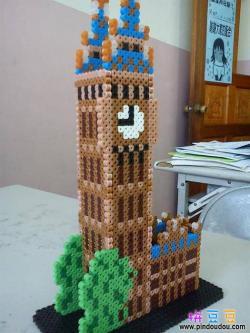立体拼豆3D伦敦大笨钟