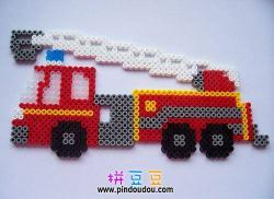 消防车拼豆