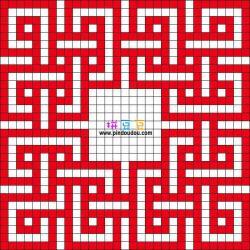 几何图形凯尔特结
