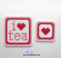 我爱喝茶杯垫