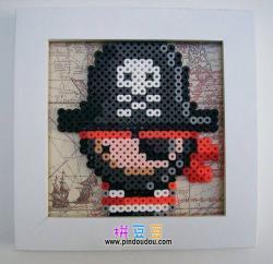 海盗相框拼豆