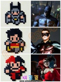 DC英雄拼豆蝙蝠侠拼豆