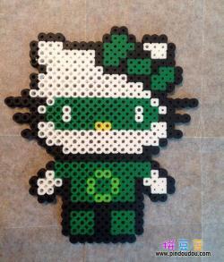 凯蒂猫KITTY猫绿灯侠版