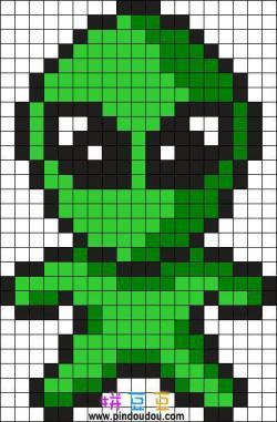 外星人拼豆
