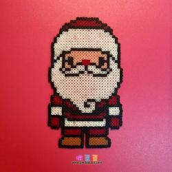 圣诞老人拼豆图纸