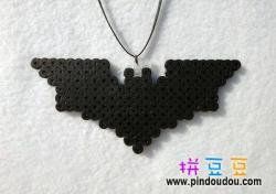 蝙蝠侠标志拼豆图纸