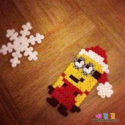 小黄人圣诞老人