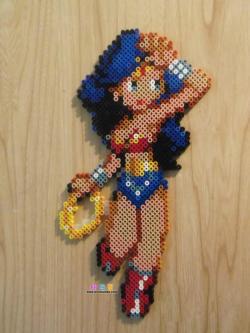 DC神奇女侠WonderWoman拼豆图纸